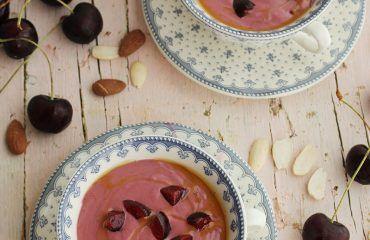 Ajoblanco de cerezas receta www.cocinandoentreolivos.com (15)