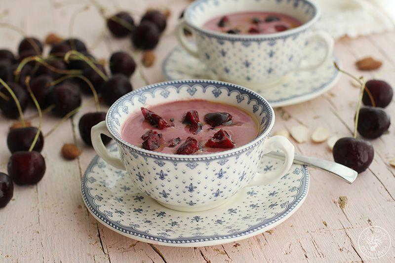 Ajoblanco de cerezas receta www.cocinandoentreolivos.com (17)