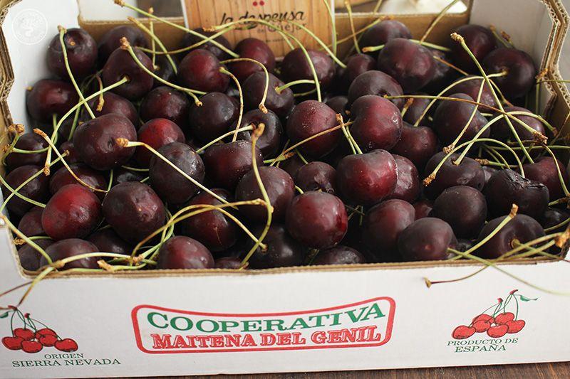 Ajoblanco de cerezas receta www.cocinandoentreolivos.com (3)