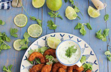 Langostinos rebozados con coco receta www.cocinandoentreolivos.com (33)