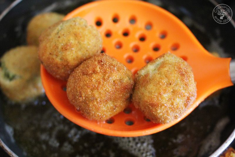 Albóndigas griegas de calabacín receta (22)