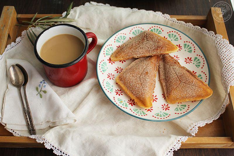 Bizcocho en sandwichera receta (1)