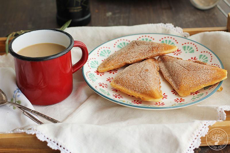 Bizcocho en sandwichera receta (4)