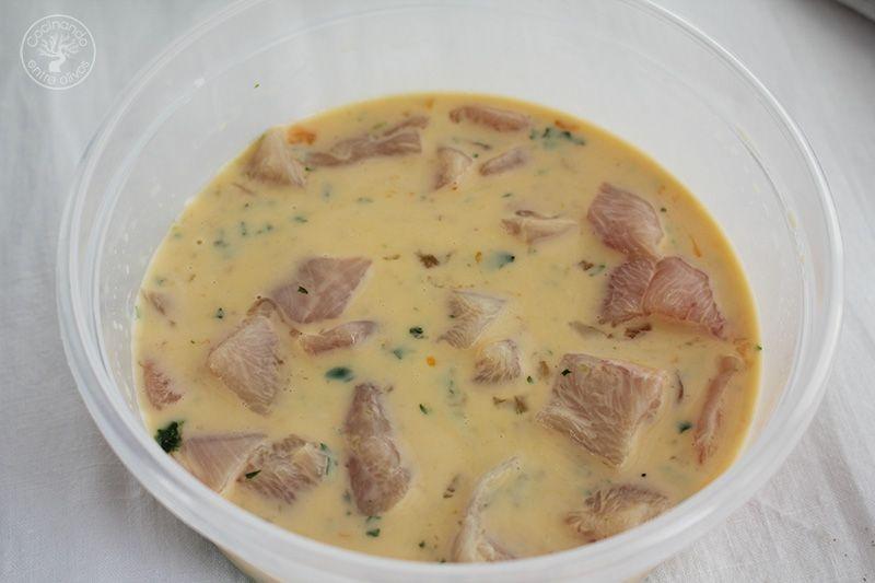 Como hacer Pollo empanado www.cocinandoentreolivos.com (8)