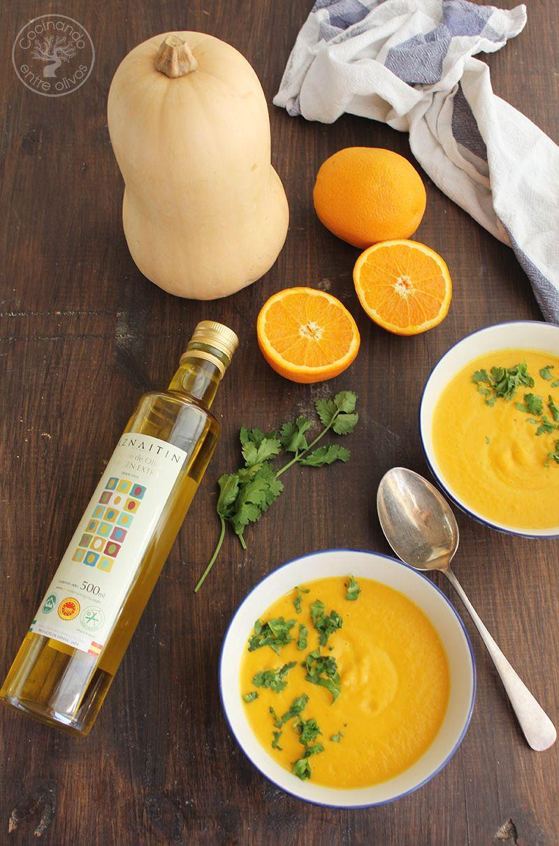 Crema de calabaza y naranja (1)