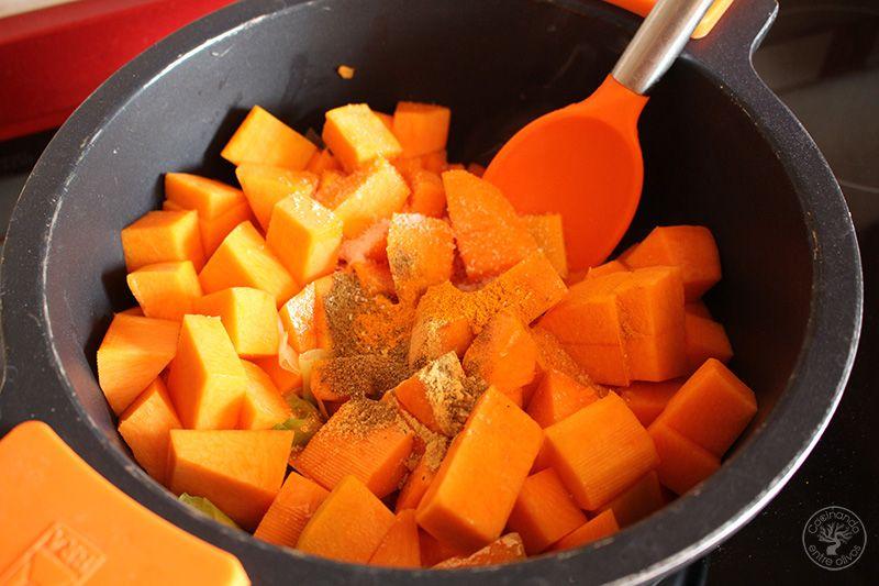 Crema de calabaza y naranja (10)