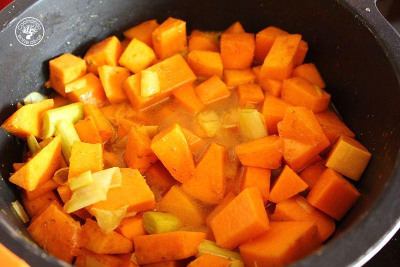 Crema de calabaza y naranja (12)