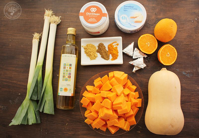 Crema de calabaza y naranja (5)