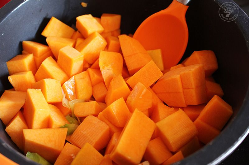 Crema de calabaza y naranja (9)