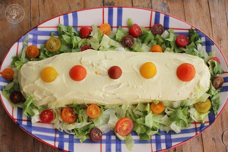 Rollo o Brazo de gitano de patatas relleno de atun y tomate (41)