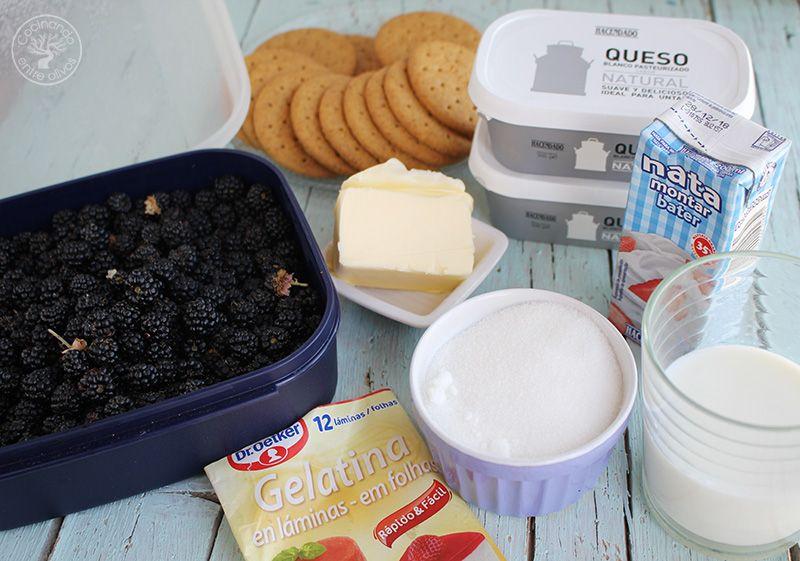 Tarta de moras y queso receta (4)