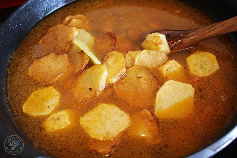 Arroz con patatas y pasas (13)