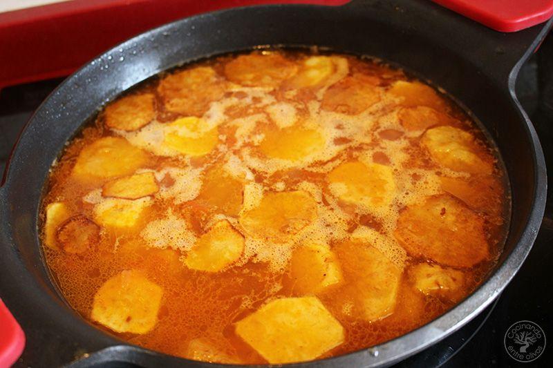 Arroz con patatas y pasas (14)