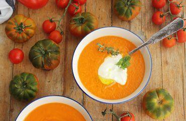 Crema de tomates asados (2)
