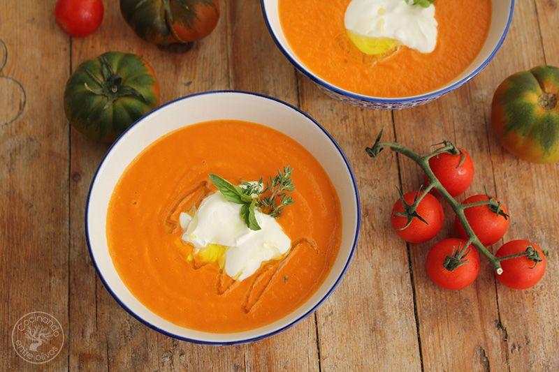 Crema de tomates asados (3)