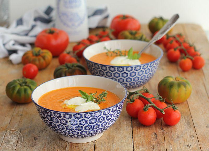 Crema de tomates asados (5)