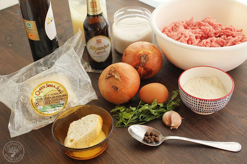 Albondigas en salsa de cerveza y queso (4)
