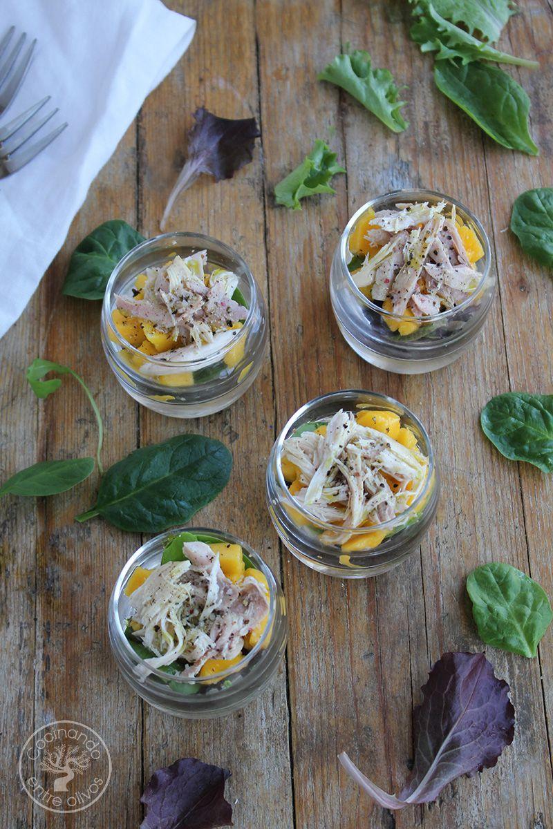 Ensalada de mango y perdiz en escabeche (3)