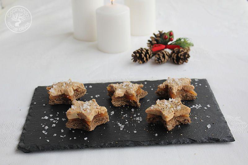 Estrellas de foie y membrillo (14)