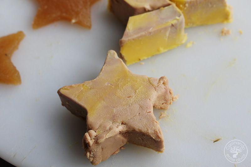 Estrellas de foie y membrillo (7)