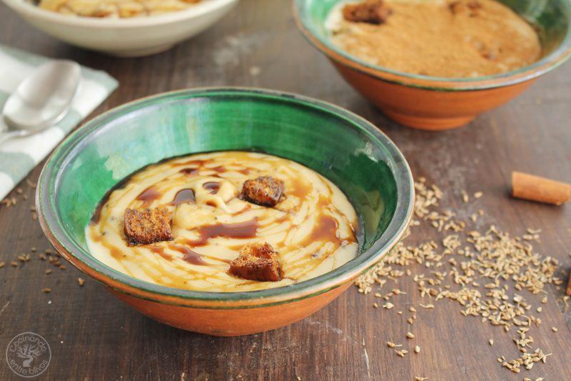 Gachas dulces receta Día de los Santos (2)