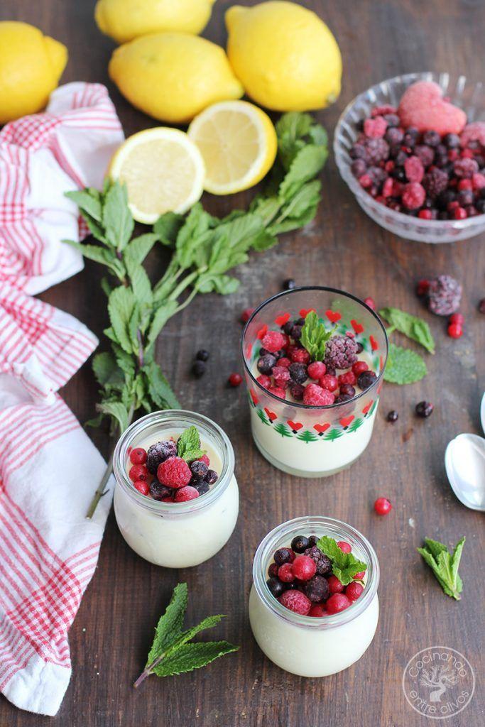 Pannacotta de limon, hierbabuena y frutos rojos (7)