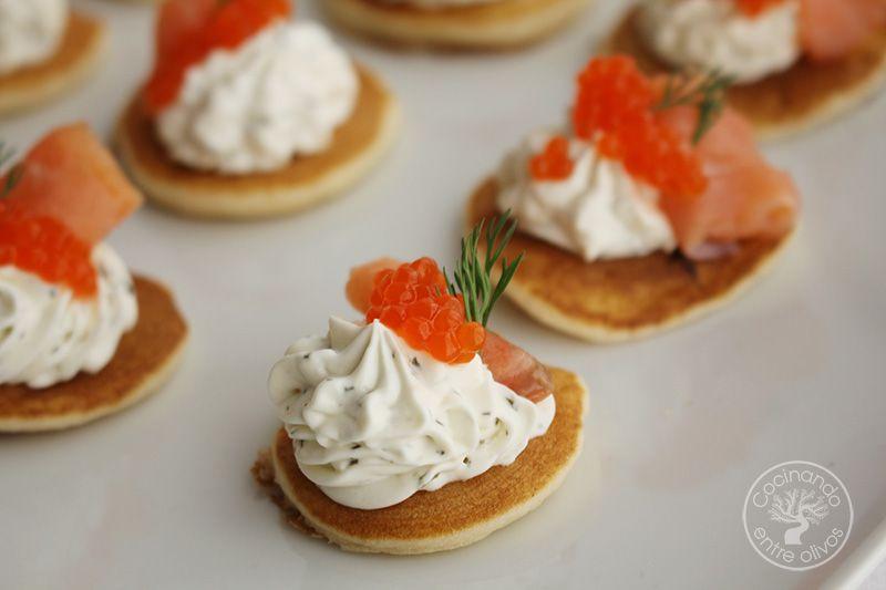 Blinis con salmon (1)