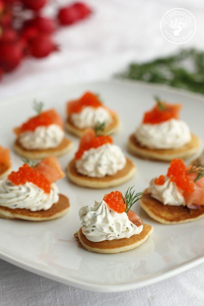 Blinis con salmon (3)
