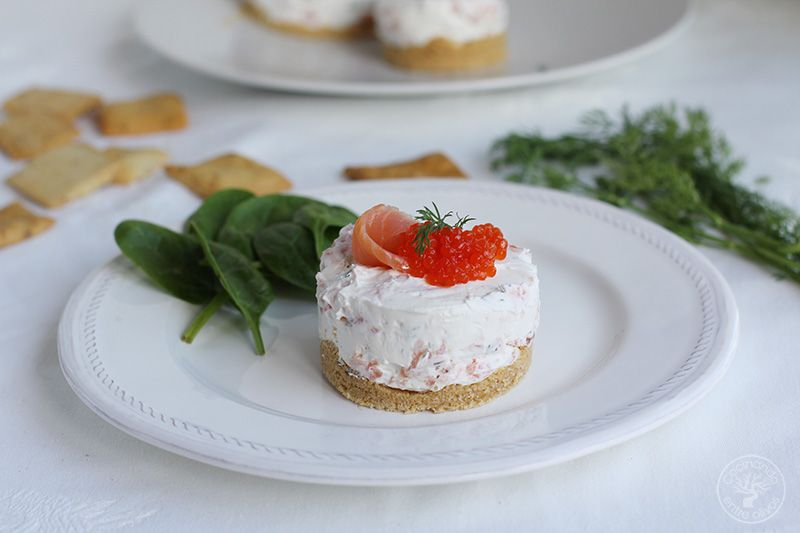 Cheese cake de salmon ahumado (1)