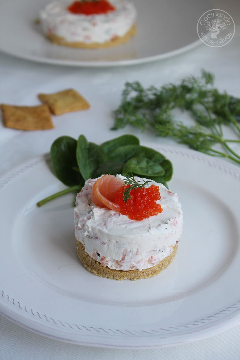 Cheese cake de salmon ahumado (10)