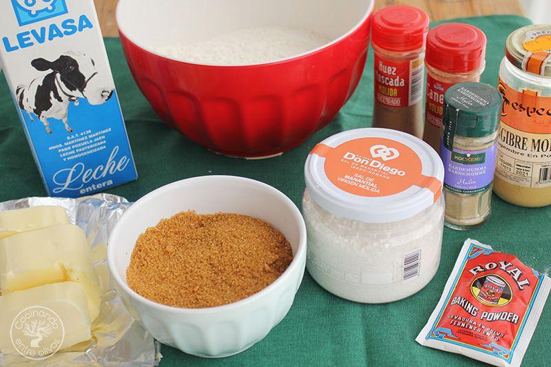 Como hacer galletas de jengibre para Navidad (1)