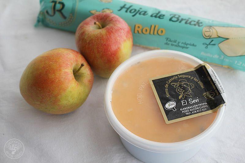 Crujientes de morcilla y manzana (2)