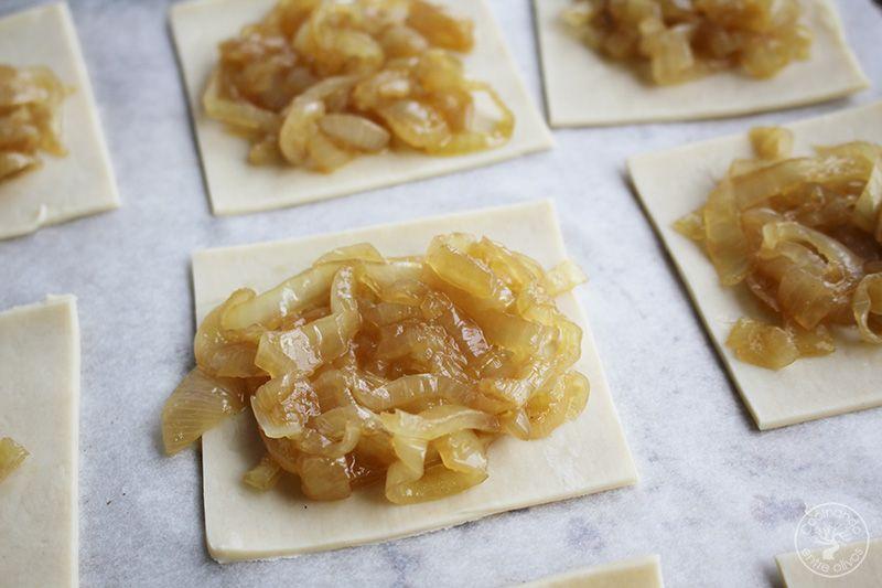 Tarta de queso y cebolla caramelizada (10)