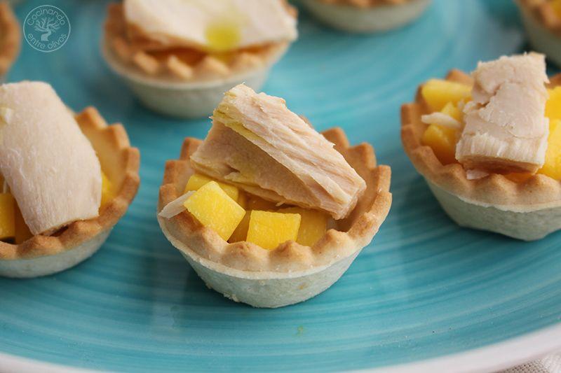 Tartaletas de mango y bonito en escabeche (10)