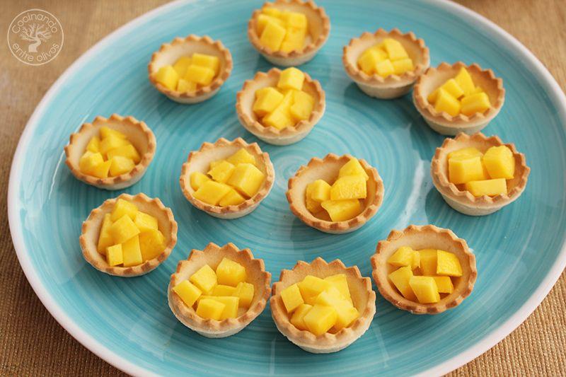 Tartaletas de mango y bonito en escabeche (6)