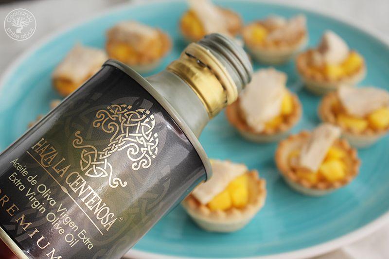 Tartaletas de mango y bonito en escabeche (7)