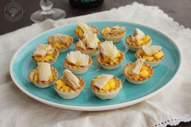 Tartaletas de mango y bonito en escabeche (8)