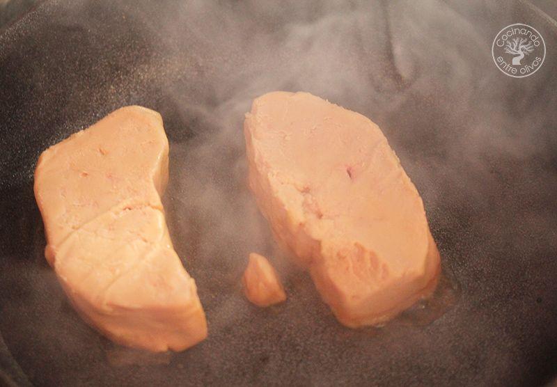 Volovanes rellenos de manzana caranelizada y foie gras (10)