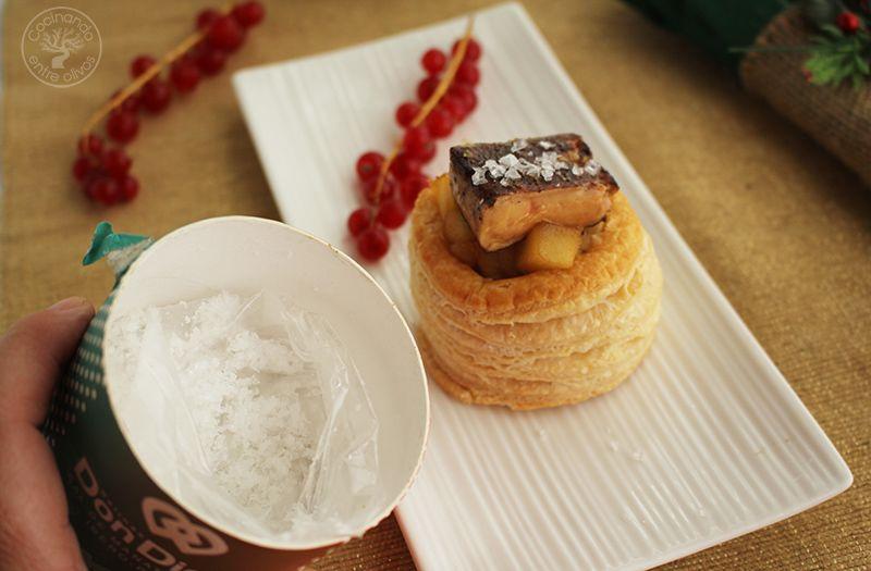 Volovanes rellenos de manzana caranelizada y foie gras (13)