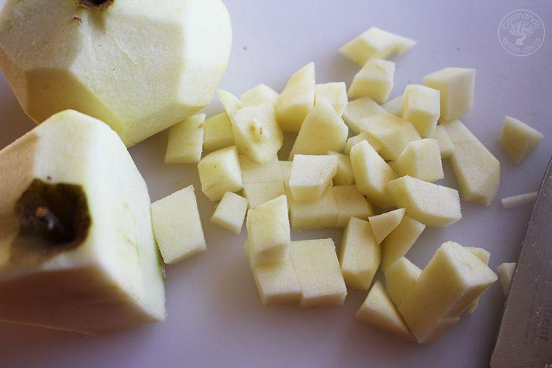 Volovanes rellenos de manzana caranelizada y foie gras (6)