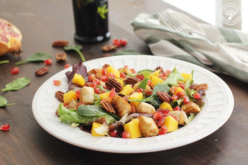 Ensalada de pollo y mango (10)