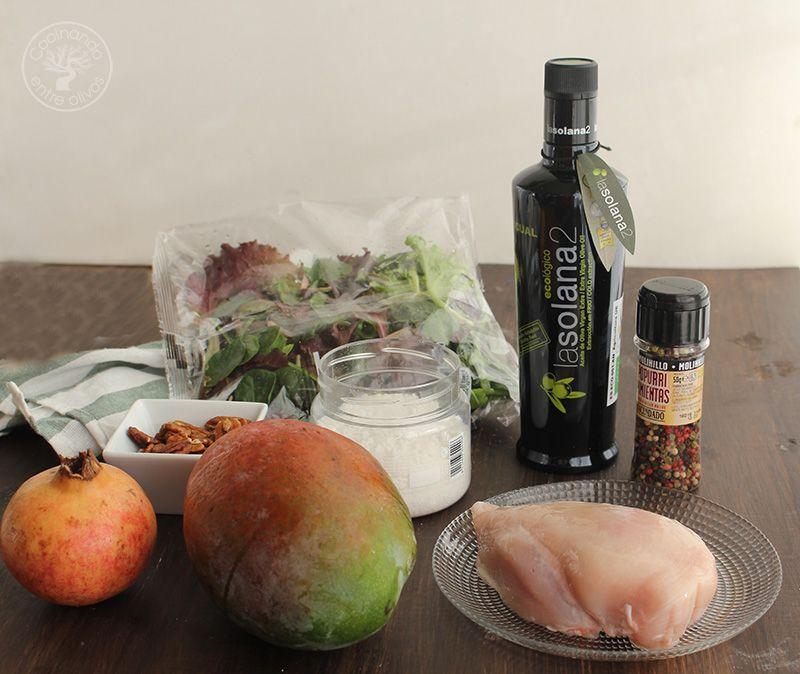 Ensalada de pollo y mango (2)