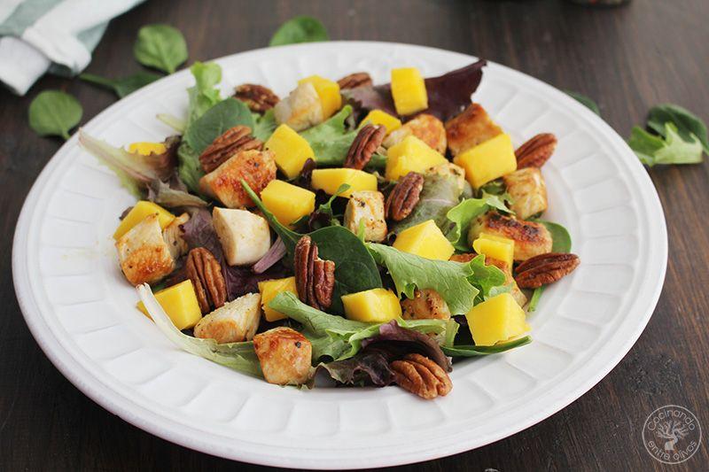 Ensalada de pollo y mango (7)