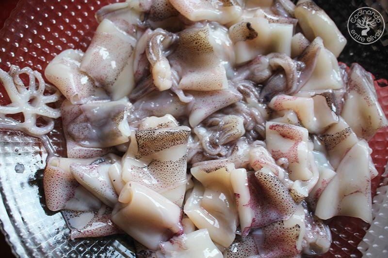 Lentejas con calamares Thermomix (9)