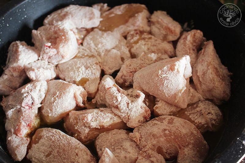 Pollo a la canela receta (8)