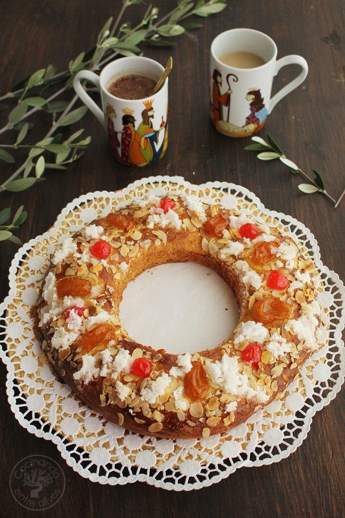Roscón De Reyes Con Aceite De Oliva Virgen Extra Cocinando Entre Olivos