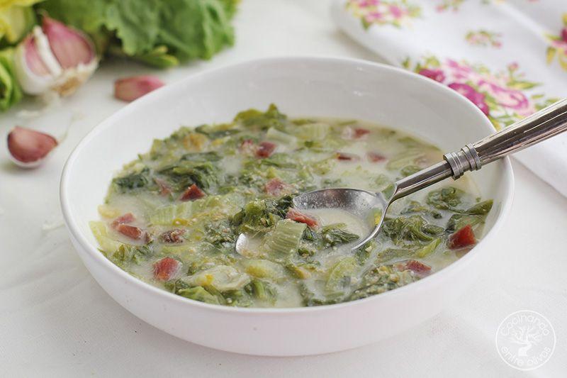 Sopa de escarola receta (1)