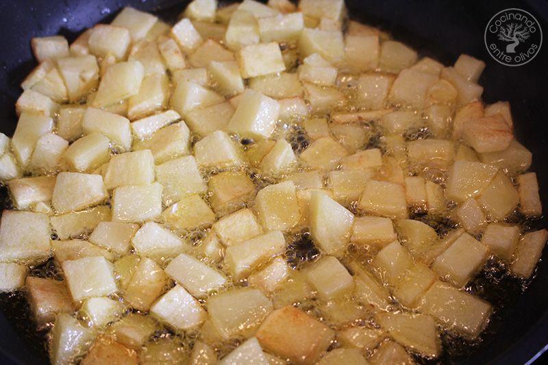 Guisantes con pollo y patatas (8)