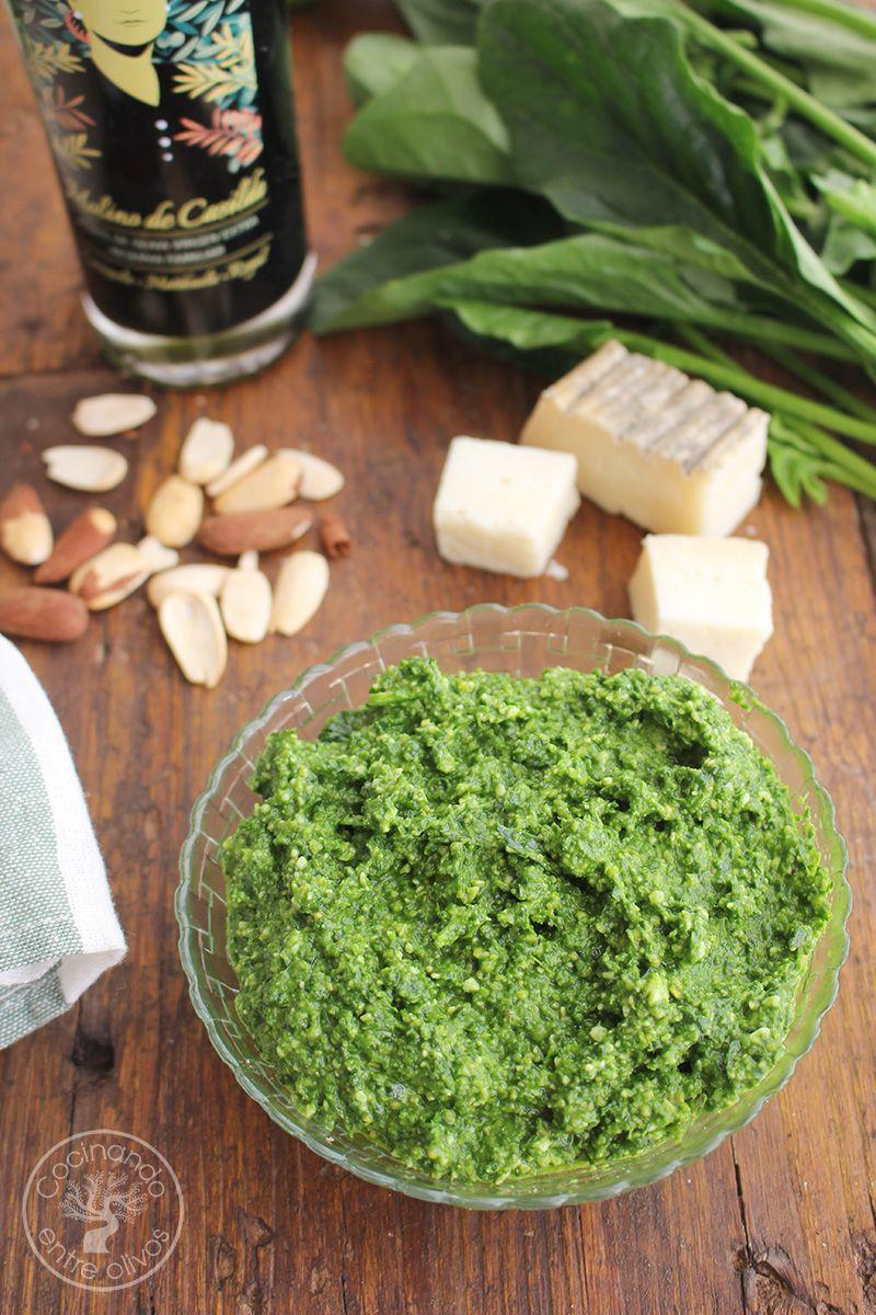 Pesto de espinacas receta (1)