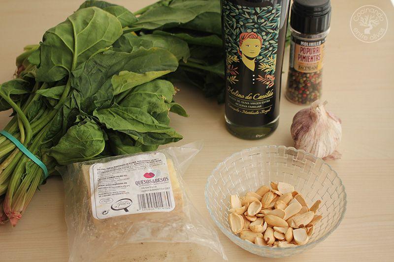 Pesto de espinacas receta (3)